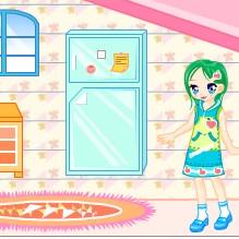 เกมส์ ตกแต่ง ภายในบ้านตุ๊กตา